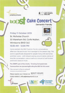 Cake Concert @ St Nicholas Church